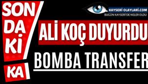 Fenerbahçe'de bomba! Golcü transferi tamam, Ali Koç resmen açıkladı...