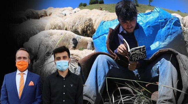 Çobanlık yaparken Robert Lisesi'ni kazanmıştı! Yeni hedefi için önemli adım