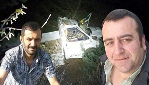 Korkunç kaza! Uçuruma yuvarlandı: 2 ölü, 1 yaralı